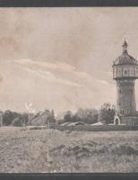начало строительства водонапорной башни Клайпеды и системы водопровода
